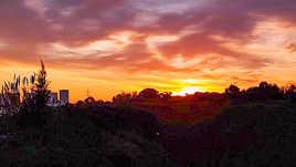 Un levé de soleil