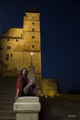 Clotilde et la tour d'Armagnac