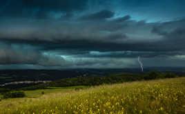 Ambiance orageuse