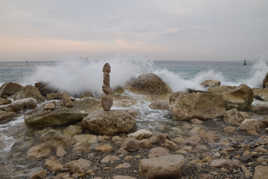 Résiste face aux vagues !!