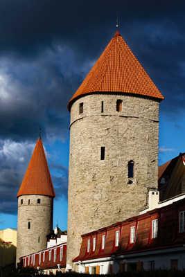 Les remparts de Tallinn