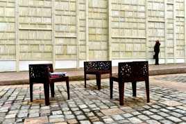 Salon de lecture en plein air