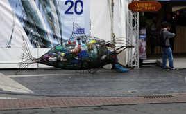 Gestion des déchets pour l'homme