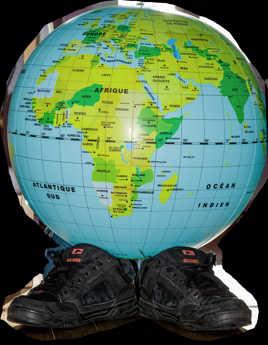 les chaussures d'atlas
