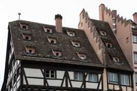 Toits à Strasbourg