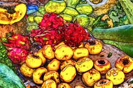 Composition de fruits et légumes