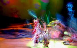 Danse endiablée