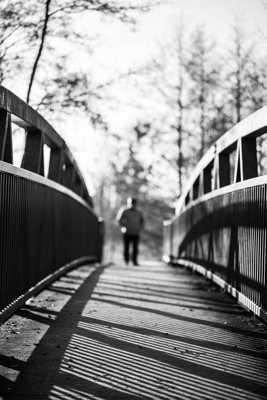 Ombre sur pont
