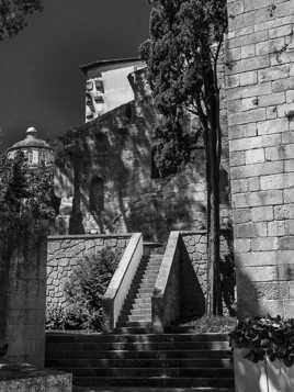 L'escalier de la Chapelle
