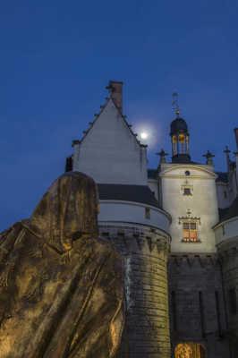 Anne de Bretagne rentrant au Chateau