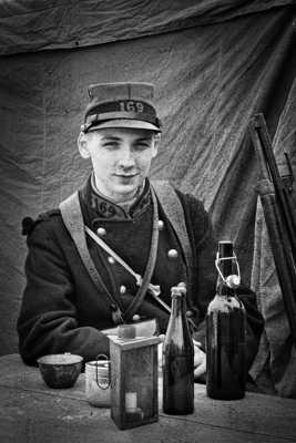 Poilu à Verdun