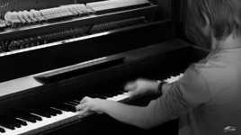 Mathieu et son piano