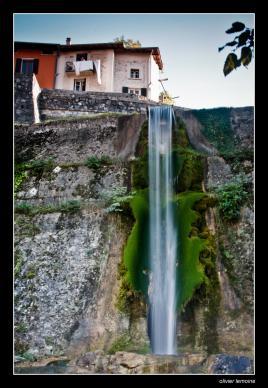 chute d'eau à Pont en Royans (38)