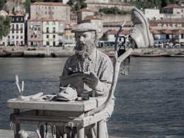 Le mime de Porto