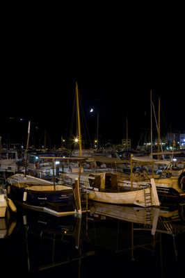 bateaux au calme