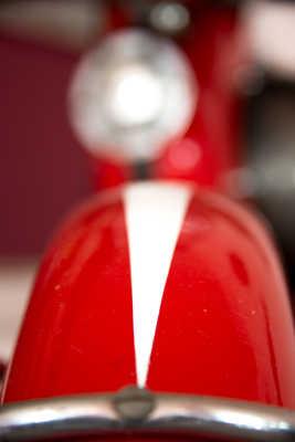 Vespa rouge