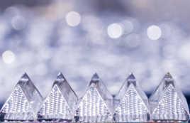 Pyramides de cristal.