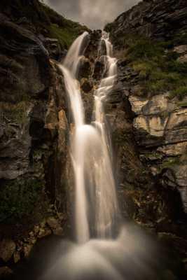 Cascade en descendant le mont Cenis