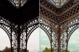 Retouche Tour Eiffel