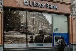 Vitrine Banque à DUBLIN