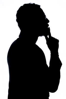 Franck en silhouette