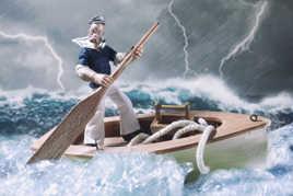 En pleine tempête !