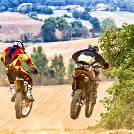 Motocross à Lagardelle