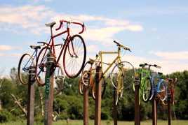 Vélos perchés