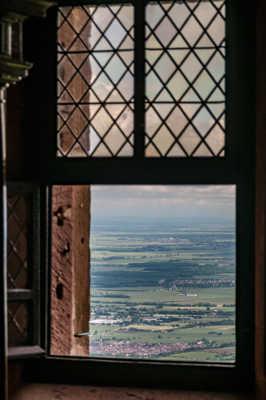 Fenêtre sur la plaine d'Alsace