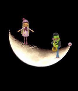Au clair de la lune, mon ami Pierrot, prête-moi ta plume pour Fotoloco...