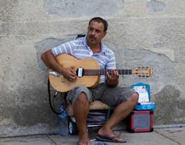 musique de rue guitare