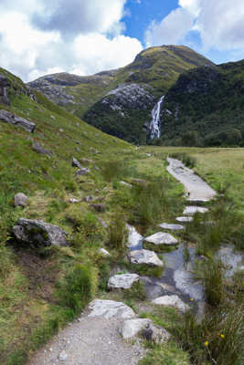 Road to Steall Falls