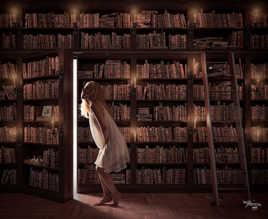 L'ange des bibliothèque