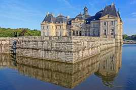 reflets à Vaux le Vicomte