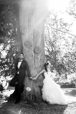Les mariés!