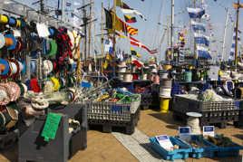 Ostende à l ancre (cordes )