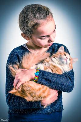 L'enfant et le chat (après)