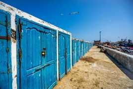 Sur le port d'Essaouira