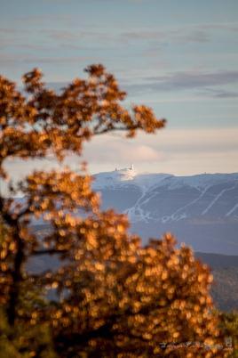 Mont Ventoux l'automne