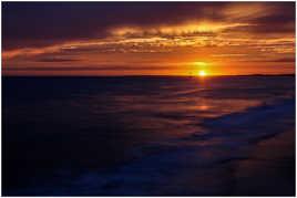 Sunset ..
