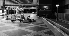 Pauvereté à Osaka