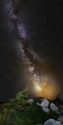 Voie Lactée @ Font d'Urles(Drôme)