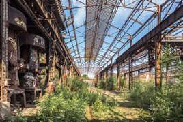 Patrimoine industriel à l'abandon