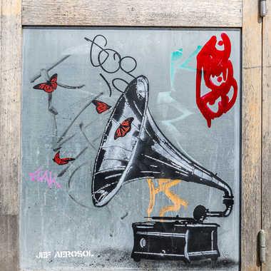 Street art tableau 12 par Basile59