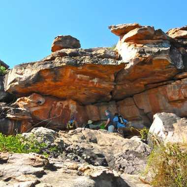 Grottes préhistoriques du Kimberley par rmgelpi