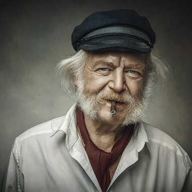 Le vieil homme et la mer...ou Renaud par ilford75