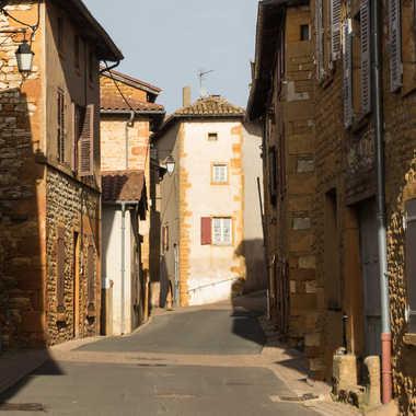 Charnay, village en Beaujolais par patrick69220