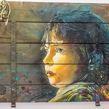 Street art tableau 14 par Basile59