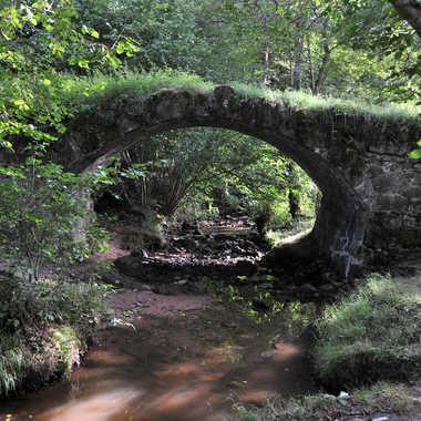 Pont romain de Droiturier par Faugere