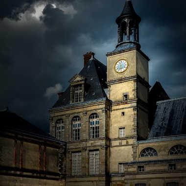 Fontainebleau, une partie du château ... par Nicolas Caulier